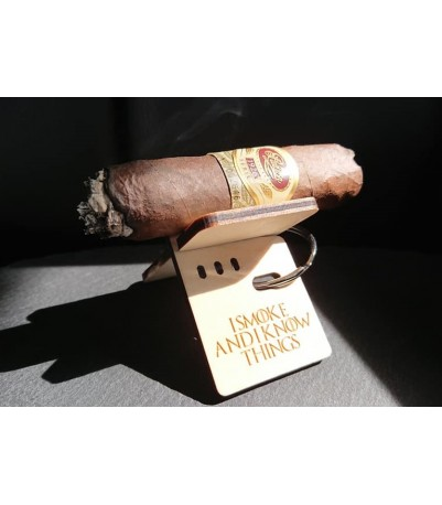 Cigar stand - I smoke and I know things