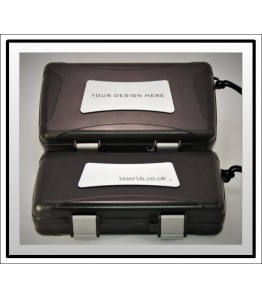 Xikar Travel Humidor - Bespoke Insert White to Black