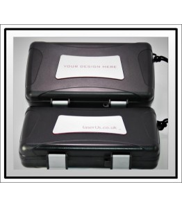 Xikar Travel Humidor - Bespoke Insert White to Red