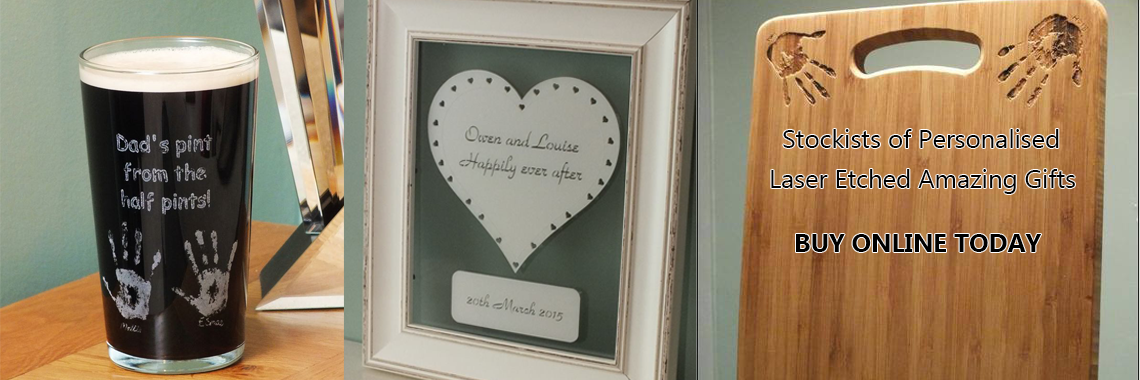Personalised Laser Etched Gifts