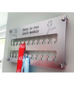 Medal holder - personalised